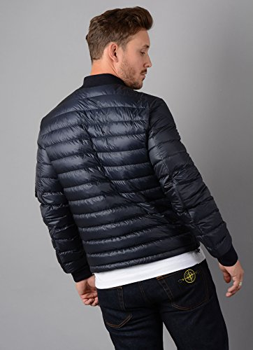 Philippe Bomber Jacket Mens Moncler Blue in Down Jacket qxSEnA