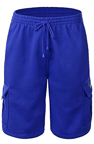 URBAN ICON MEN'S FLEECE CARGO SHORTS