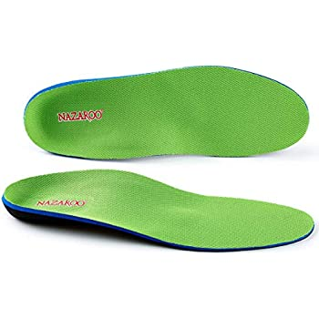 Amazon.com: Arch Support Shoe Insert Orthotic Insole Flat