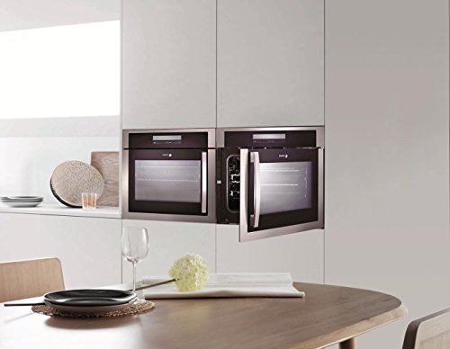 6HA-200TRX 24'''' European Convection Wall Oven with Right Hinge 10 Cooking Programs LED Touch Control and High Energy Efficiency in Stainless Steel by Fagor (Image #2)