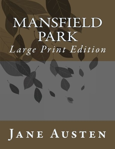 Download Mansfield Park: Large Print Edition pdf