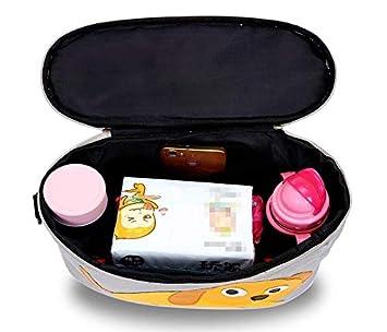 Gro/ßer Stauraum Buggy Organizer f/ür Spielzeug Universal Baby Kinderwagen Tasche mit Rei/ßverschluss Kinderwagen Organizer Grau Trinkflaschen Windeln Handys und andere Babysachen