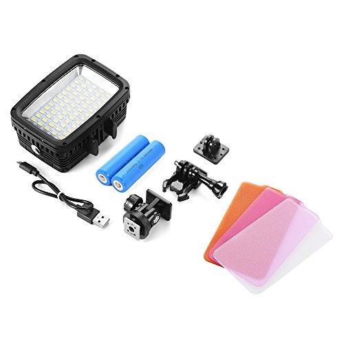 XCSOURCE Underwater 40M Waterproof LED Diving Video Light 60 LEDs 1800LM for GoPro Hero 3/4 Sports Cameras DSLR LD846 by XCSOURCE (Image #3)