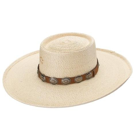 Charlie 1 Horse High Desert Palm Leaf Hat