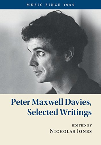 Download Peter Maxwell Davies, Selected Writings (Music since 1900) pdf epub