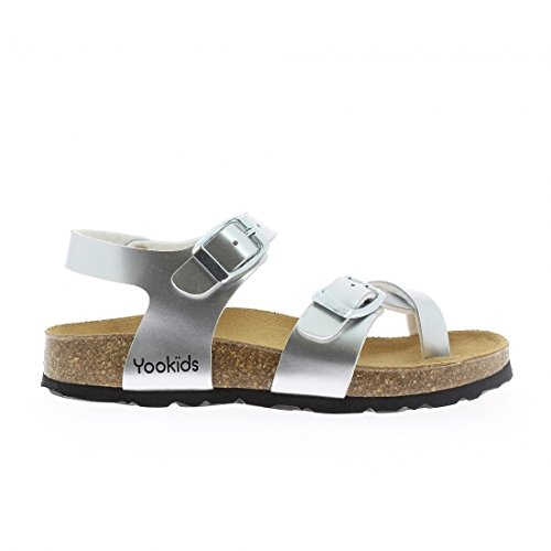 YOOKIDS - Tongs / Sandales - Loop - Argent
