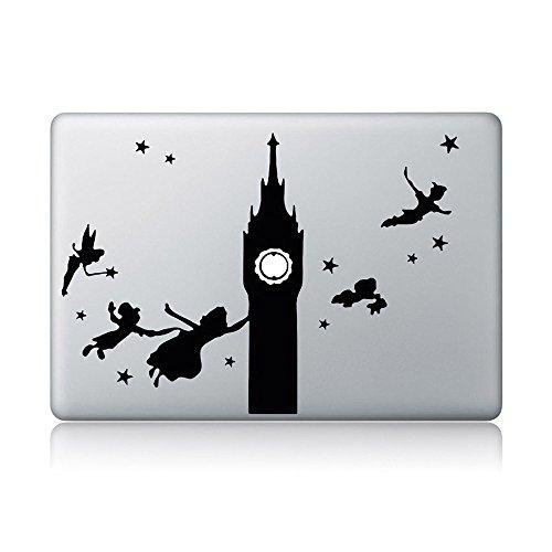 Peter Pan And Big Ben Macbook Laptop Vinyl Sticker Decal (Peter Pan Macbook Decal compare prices)