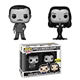 Funko Pop! TV: The Addams Family Morticia and Gomez Black-and-White Vinyl 2-Pack Entertainment Earth Exclusive