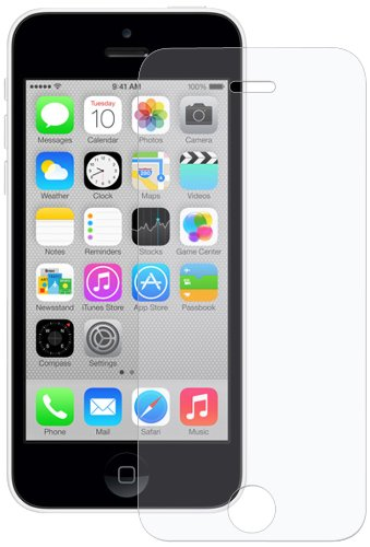 Amzer Kristal Anti-Glare Screen Guard Protector Shield For iPhone 5C - Retail Packaging - - Ray Kristal