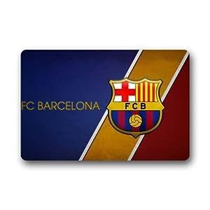 Cottage Decor Helper FC Barcelona Custom Durable interior/al aire libre Felpudo (23,6(L) X 15,7(W))