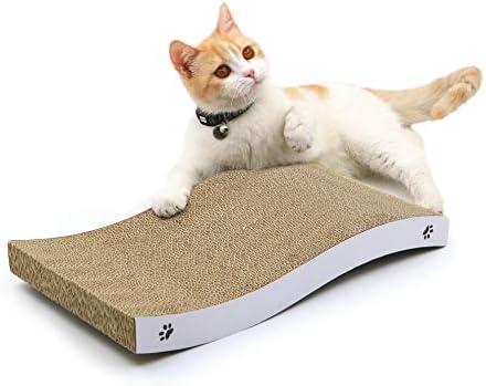 Coching Cat Scratcher Cardboard Scratch Pad with Premium Scratch Textures Design Design Durable Scratching Pad Reversible
