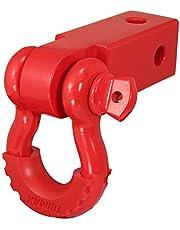 Trimax TDRRHR Receiver Hitch D-Ring (Red)