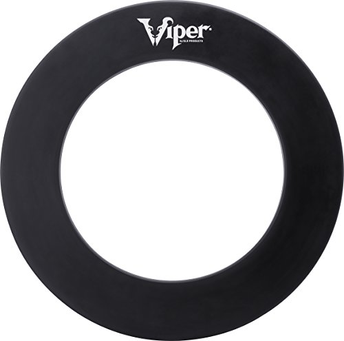 - Viper Guardian Dartboard Surround Sisal/Bristle Steel-Tip Dartboard Wall Protector, Black