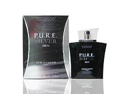 PURE P.U.R.E. SILVER by Giorgio Valenti 3.3 / 3.4 oz edt Cologne New In Box