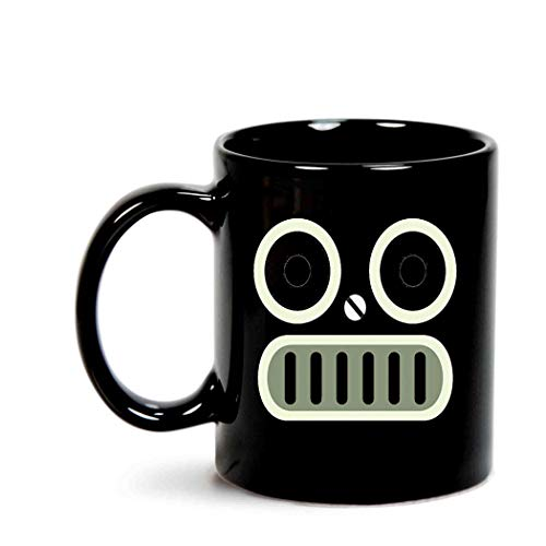 Robot Face Halloween Simple -
