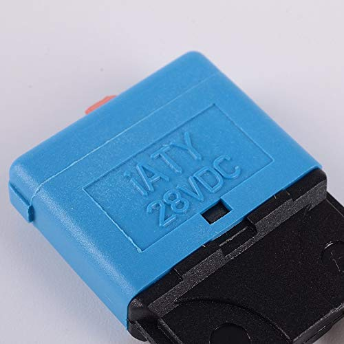 15A Fuse 12v//24v Fits Circuit Breaker Blade Automotive Car Kit Resettable Inline Fuse Holder Protection Stereo Manual Reset