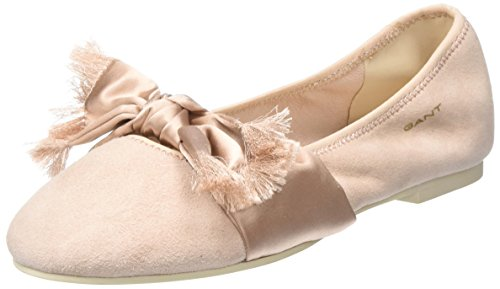 Gant WoMen Molly Closed Toe Ballet Flats Pink (Silver Pink G584)