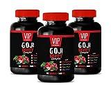 Weight Loss multivitamin for Men - Goji Berry Complex - with Pomegranate, RESVERATROL, NONI, ACAI - Acai Berry Pills - 3 Bottles 180 Capsules