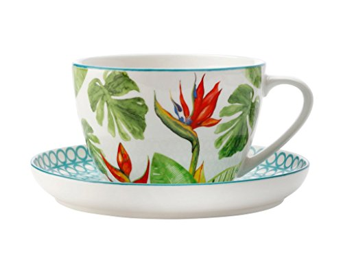 CHRISTOPHER VINE Paradiso - Paradiso Teacup & Saucer 260ML AW0074