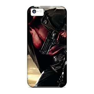 First-class Case Cover For Iphone 5c Dual Protection Cover Hellboy