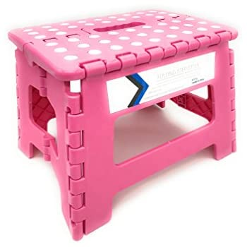 Amazon Com Expace 13 Inch Wide Plastic Folding Step Stool