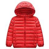ZPW Boys' Girls' Hooded Lightweight Packable Puffer Down Jacket
