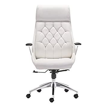 Zuo Modern Boutique Office Chair, White
