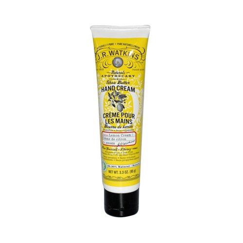 2 Packs of J.r. Watkins Shea Butter Hand Cream Lemon Cream - 3.3 Oz (Watkins Butter Cream Lemon Shea)