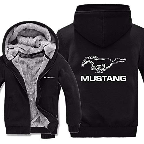 Ford Mustang Hoodies Jacket Winter Mans Unisex Casual Man Years Sweatshirts