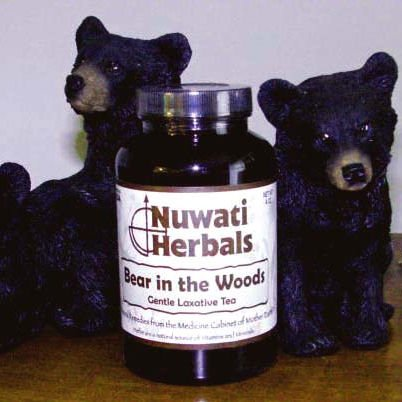Nuwati Herbals Bear in the Woods Tea 2 oz. - Cascara Sagrada Root