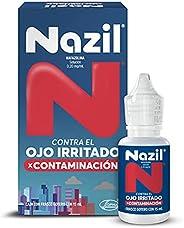 Nazil Contaminación Gotas 15 ml, Alivio para el ojo irritado.