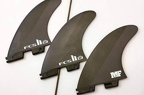 MF TEMPLATE THRUSTER SETS ミックファニングシグネチャー ネオカーボン 3fin 3 フィン LARGEサイズ 黒(ブラック)