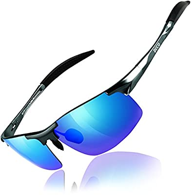 DUCO Mens Sports Polarized Sunglasses UV Protection Sunglasses for Men 8177s