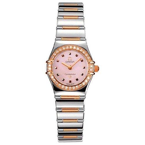 Omega Women's 1368.73.00 Constellation My Choice Quartz Mini Diamond Bezel Watch