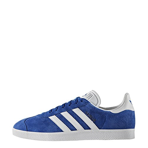 Adidas Unisex Gazelle Casual Sneakers Collegiaal Royal / Wit / Goud Ontmoet.