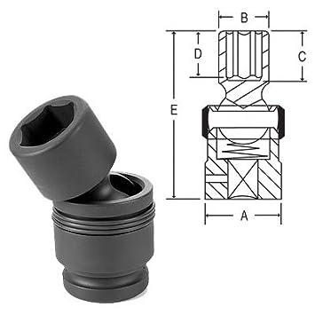 Grey Pneumatic 1 Drive x 1-5//16 Deep Socket 4042D