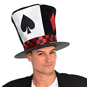 Amscan Poker Ace Hat Costume Accessories