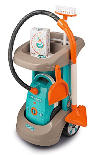 Smoby – Rowenta Cleaning Trolley with Vacuum Cleaner