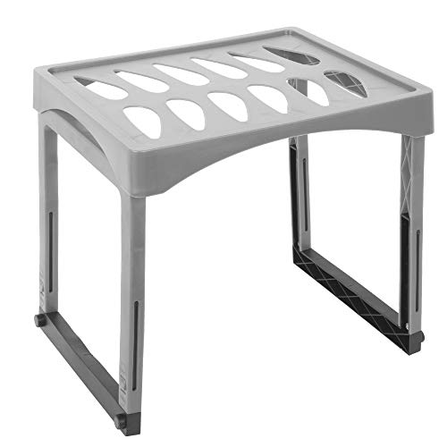 Office Works Extendable Height Locker Shelf with Legs for Gym, School, and Office