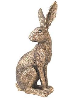 Border Fine Arts Studio Bronze Hare Large Figurine New Boxed A28769