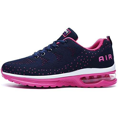 RomenSi Womens Air Athletic Running Sneakers Fashion Breathable Sport Gym Walking Tennis Shoes (US5.5-10 B(M) 3