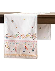 Maison d' Hermine 100% Cotton Soft and Comfortable Set of 4 Napkins Perfect for Family Dinners | Weddings | Cocktail | Kitchen | Thanksgiving/Christmas