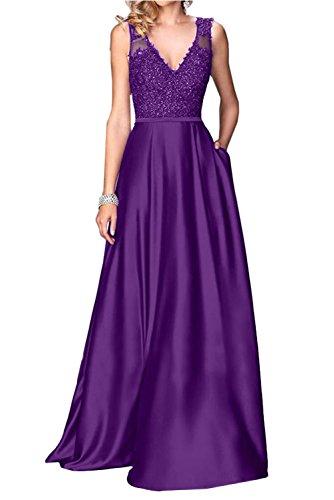 Ivydressing Wedding V Neck Evening 17W Purple Review