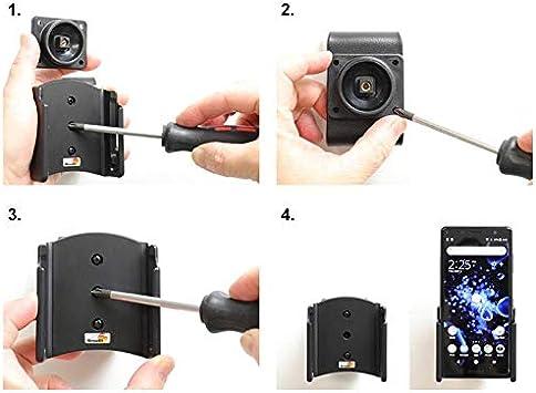 Vehículos BRODIT soporte 711052 pasiva con articulación esférica para Sony Xperia xz2 Compact