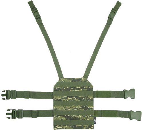 BE-X Beinplatte für modulare Taschen mit Schnelltrennsystem - rooikat