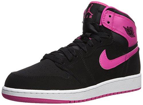 Rosa Pink High Rosa Donna Jordan Negro da Air Corsa white Vivid Blanco 1 vvd Retro Scarpe Black GG Nike Pnk CRaPw