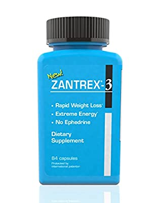 Zantrex Dietary Supplement, 84 Count (Pack of 12)