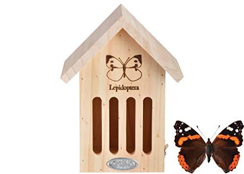 Esschert Design WA39 Butterfly House with Line Drawing ()
