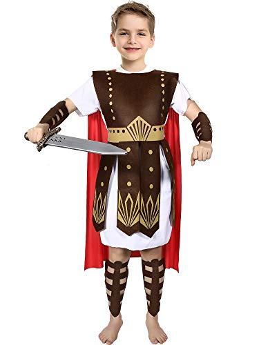 Roman Warrior Costume Boys and Girls Warrior
