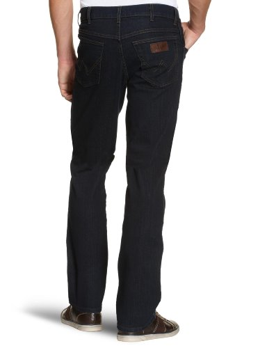 Blu 001 Da Uomo Black Jeans Stretch Wrangler Blue blue Texas 7 Black pacco wx4XgZzq